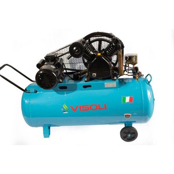 Compresor aer 270L Visoli, VSL-270l/10, 10bar, 220V/380V