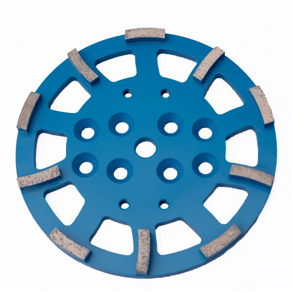 Disc diamantat 250mm pentru slefuirea betonului/10 segmente