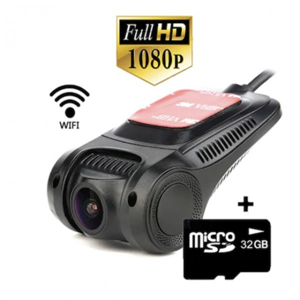 Camera auto DVR Visoli™ RoadBuddy H22 WiFi, chipset Novatek, lentile Sony, Full HD 30fps, night vision