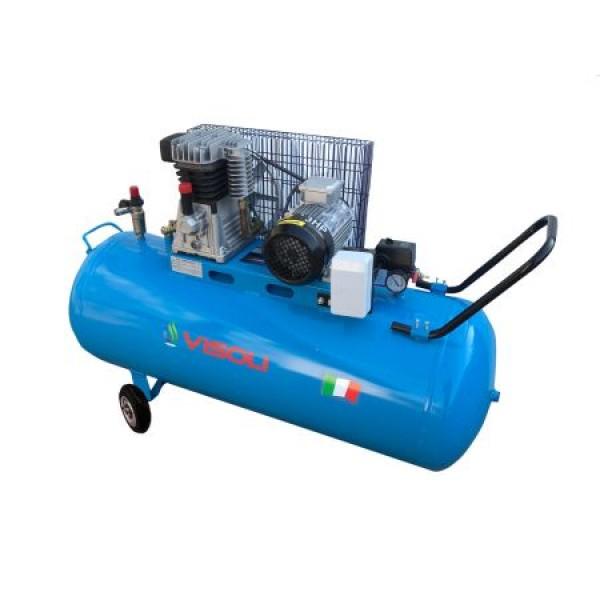 Compresor Aer 200L, Visoli VSL-200, 10bar, 300l/min, 220V/380V