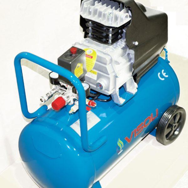 Compresor aer cu ulei 50L, Visoli, VSCH-50, 8bar