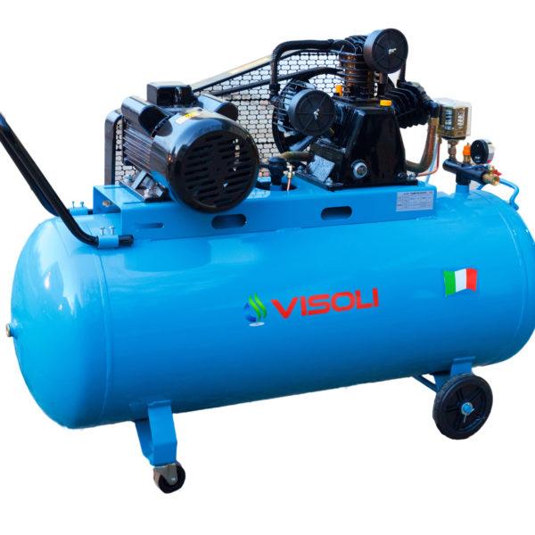 Compresor aer Visoli 300L VSL-300, 12.5bar, 900l/min, 380V