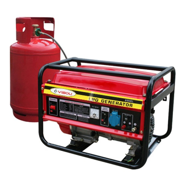 Generator Curent Pe GPL/GN Visoli LPG-6500