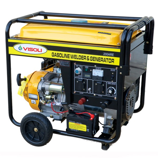 Generator de Sudura/Curent Benzina Visoli LTW200ARE Monofazic