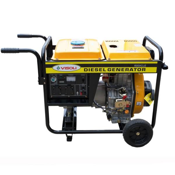 Generator de Sudura/Curent Diesel Visoli LDW180ARE Monofazic