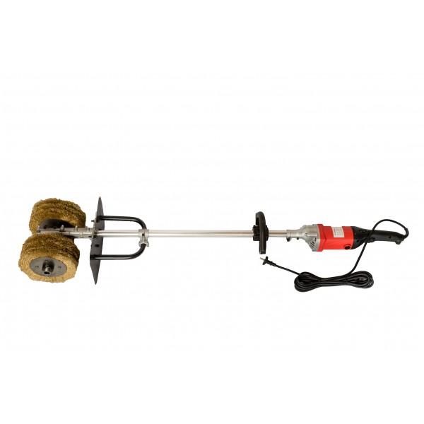 Masina de slefuit cu perii ideala pentru pavaj