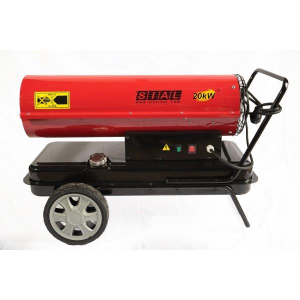 Tun de caldura cu ardere directa SIAL, putere 20 kW