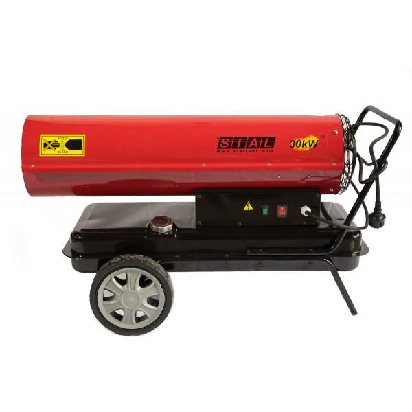 Tun de caldura cu ardere directa SIAL, putere 30 kW