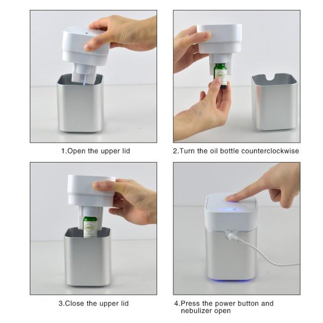 Difuzor Ulei Esential Aromaterapie, Nebulizator Ulei Esential Fara Apa