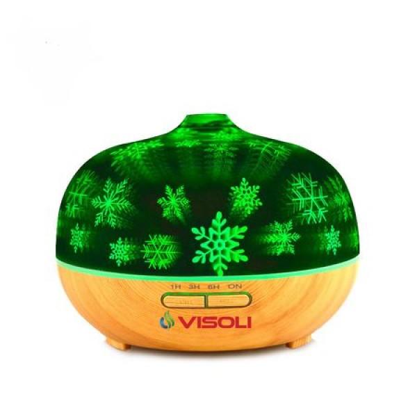Umidificator Aromaterapie Visoli™ 3D De Sticla 300 ML